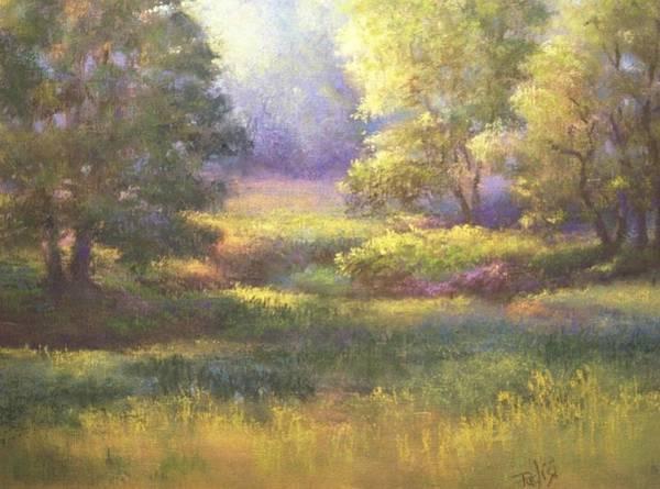 Pastel - Pasture Grove by Bill Puglisi