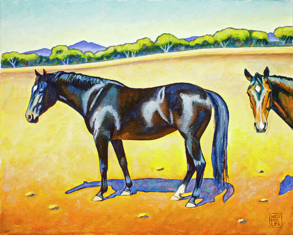 Wall Art - Painting - Pasture Pals 2 by Stacey Neumiller