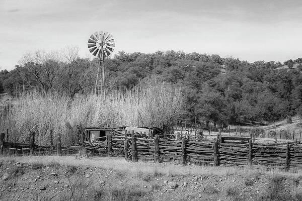Photograph - Patagonia Windmill by Teresa Wilson