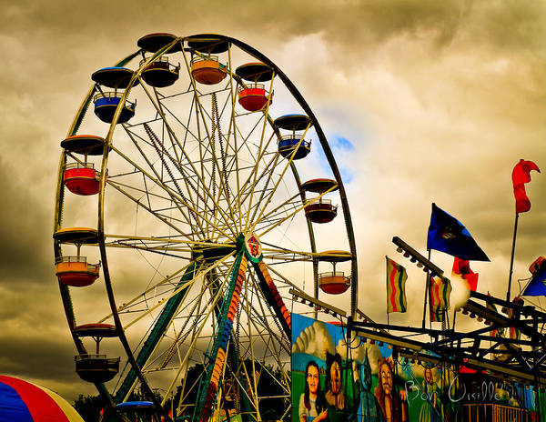 Carnival Photograph - Patch Of Blue by Bob Orsillo