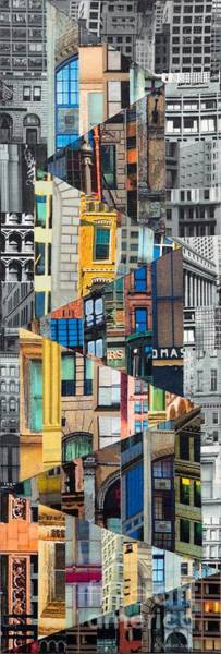 Wall Art - Painting - Patchwork City 25 by Marilyn Henrion