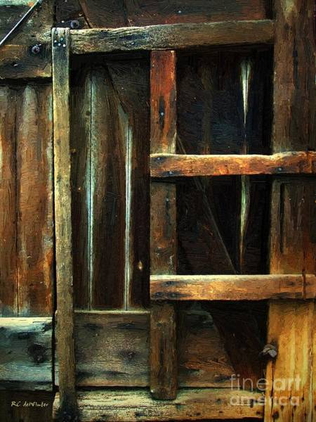 Painting - Patchwork Rustic by RC DeWinter