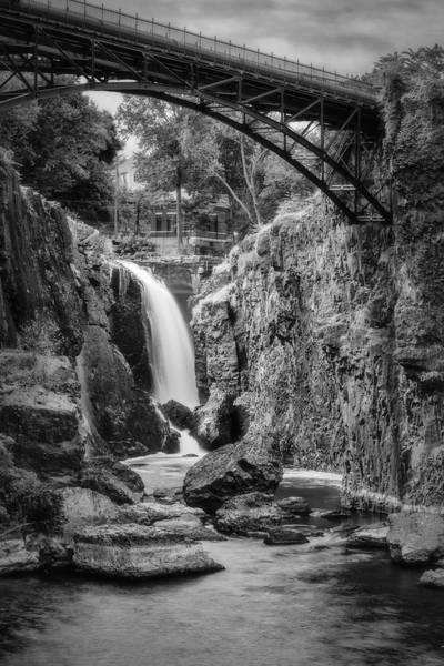 Photograph - Paterson Great Falls IIi Bw by Susan Candelario