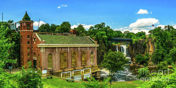 Photograph - Paterson Great Falls National Historical Park  by Nick Zelinsky