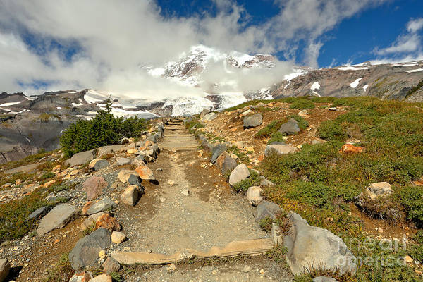 Mt. Adams Photograph - Path Before The Climb by Adam Jewell