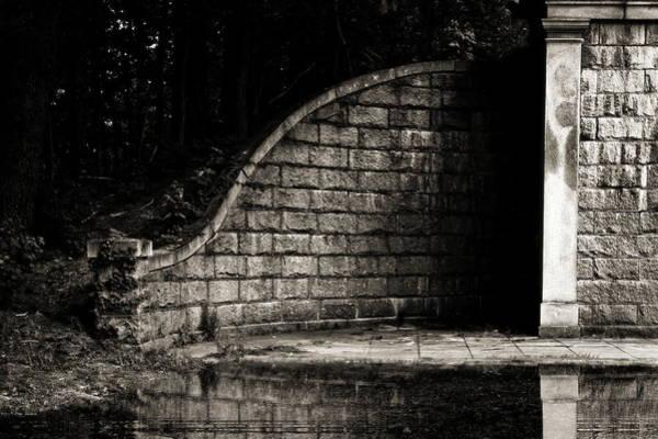 Photograph - Path Behind The Wall by Bob Orsillo