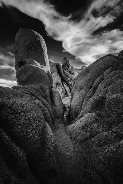 Mojave Photograph - Path Into Light by Joseph Smith