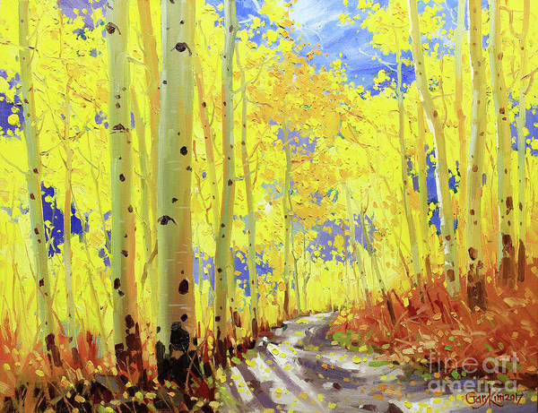 Wall Art - Painting - Path Of Owl Creek by Gary Kim