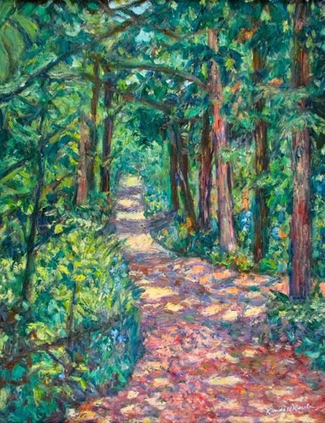 Path On Sharp Top Art Print