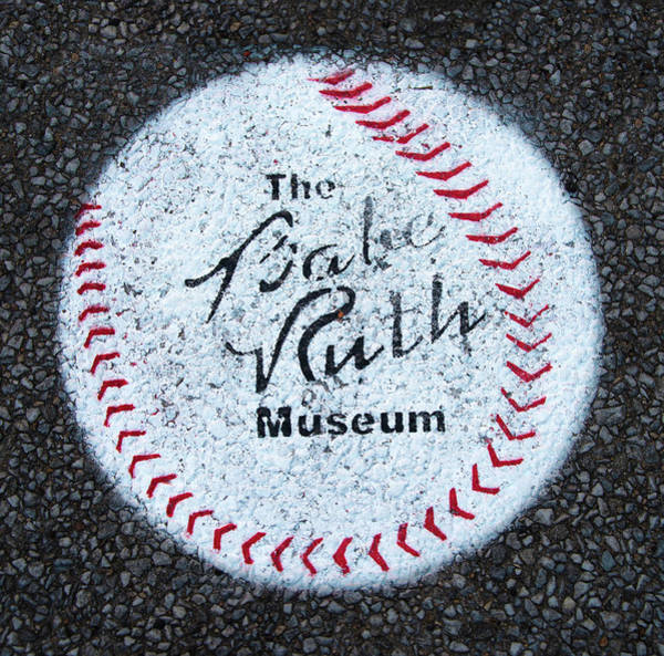 Photograph - Path To Babe Ruth Museum by Gary Slawsky