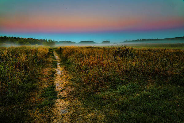 Photograph - Path To Misty Mystic Future #h7 by Leif Sohlman