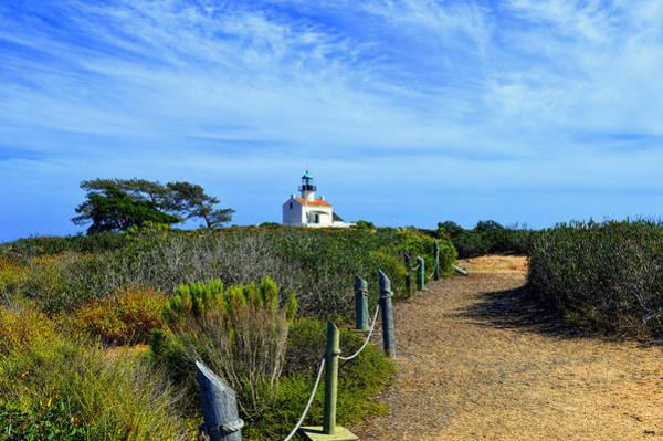 Photograph - Path To Old Point Loma Lighthouse - San Diego by Glenn McCarthy