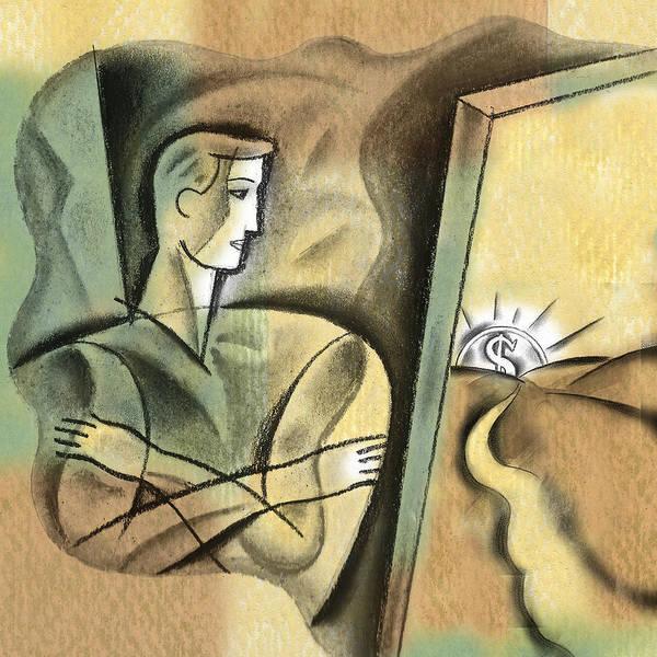 Wall Art - Painting - Path To Profit by Leon Zernitsky