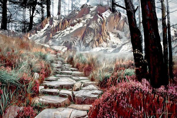 Digital Art - Path To Solitude by Pennie McCracken