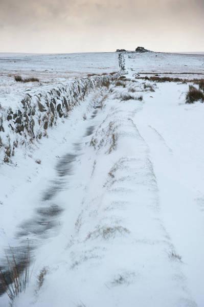 Photograph - Path To South Hessary Tor IIi by Helen Northcott