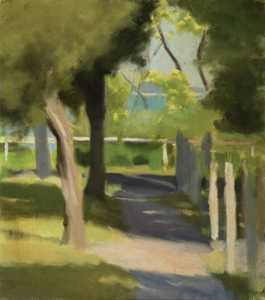 Wall Art - Painting - Path To The Beach by Clarice Beckett