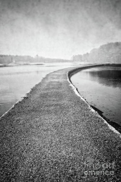 Gravel Road Photograph - Path To The Beyond by Edward Fielding