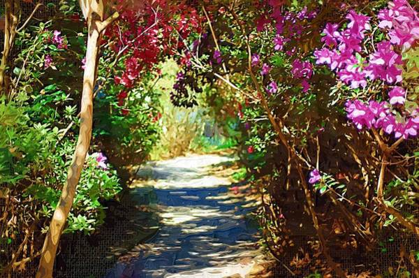 Digital Art - Path To The Gardens by Donna Bentley