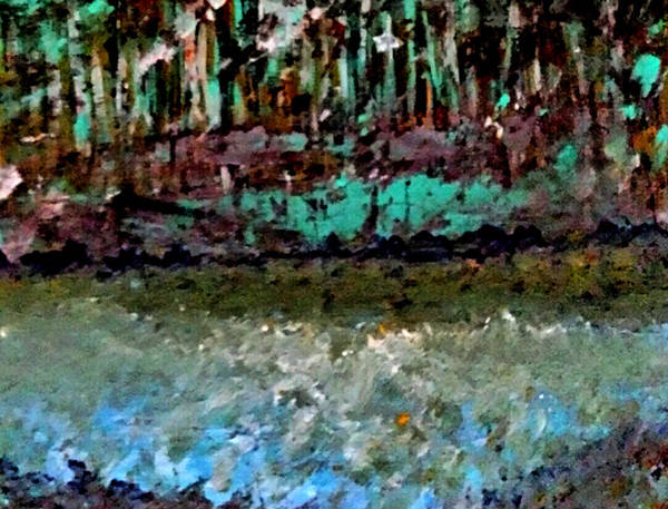 Painting - Pathless Woods by Nikki Dalton
