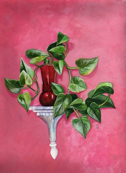 Wall Art - Painting - Pathos For Pothos by Carrie Auwaerter