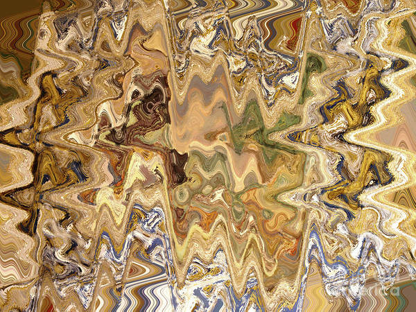 Wall Art - Digital Art - Paths Unknown Abstract by Carol Groenen