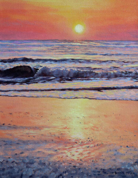 Outer Banks Painting - Pathway To Dawn - Outer Banks Sunrise by Bonnie Mason