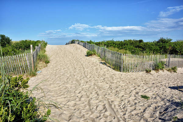 Wall Art - Photograph - Pathway To The Beach - Delaware by Brendan Reals