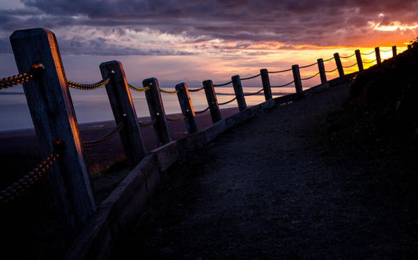 Photograph - Pathway Up Flattop by Tim Newton
