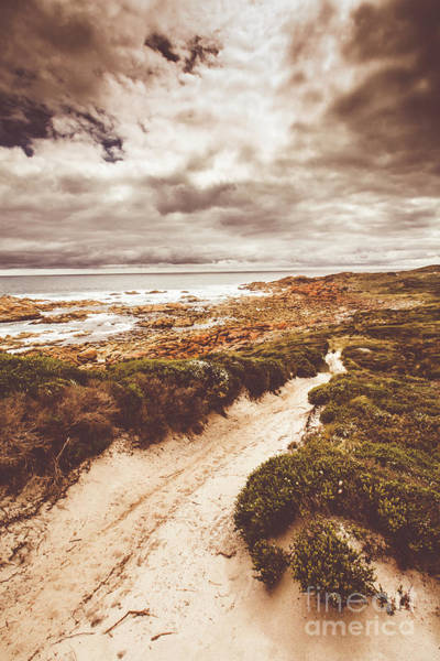 Oceanic Photograph - Pathways To Seaside Paradise by Jorgo Photography - Wall Art Gallery