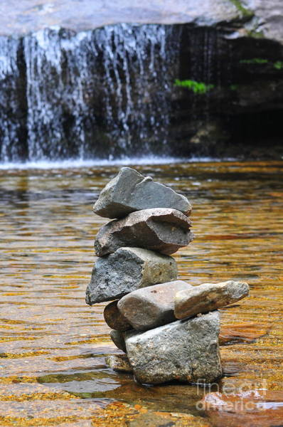 Balancing Rocks Photograph - Patience  by Catherine Reusch Daley