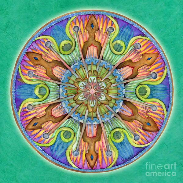Painting - Patience Mandala by Jo Thomas Blaine