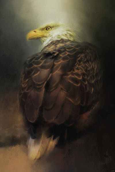 Painting - Patience Of The Eagle by Jai Johnson