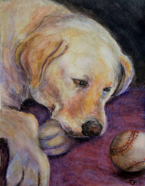 Painting - Patiently Waiting by Susan Jenkins