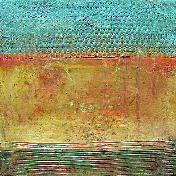 Oxidation Painting - Patination I by Filomena Booth