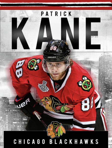 Montreal Canadiens Digital Art - Patrick Kane  by Nicholas Legault