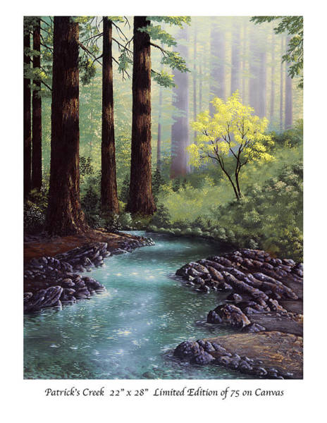 Sand Creek Painting - Patricks Creek by Patrick ORourke