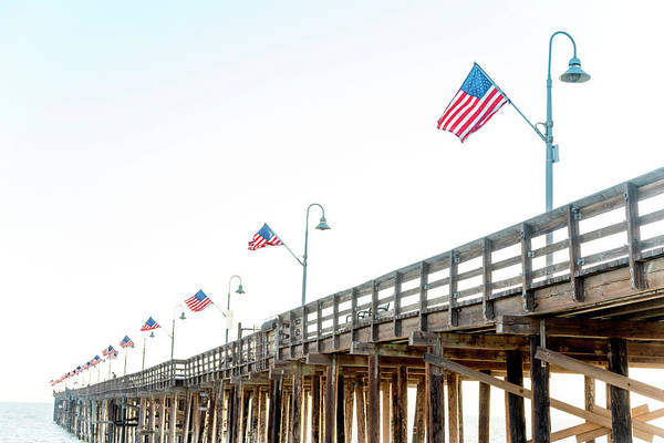 Ventura Photograph - Patriot Pier by Sean Davey