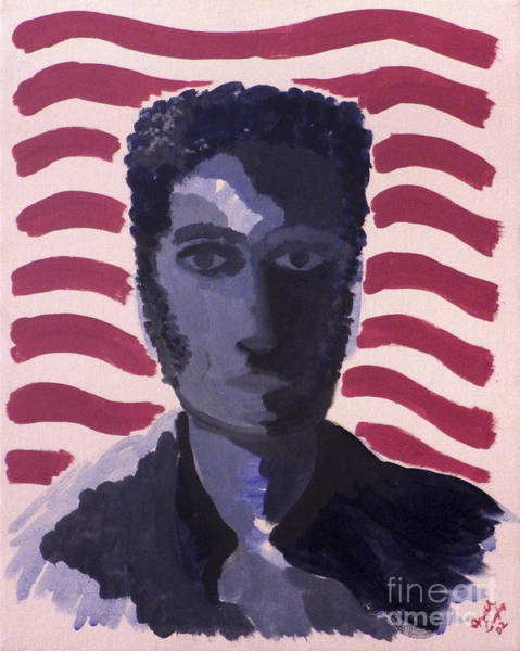 Painting - Patriotic 2002 by Joseph A Langley