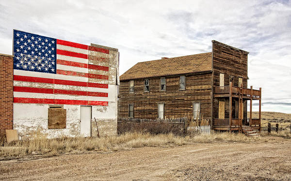 Photograph - Patriotic Bordello by Scott Read