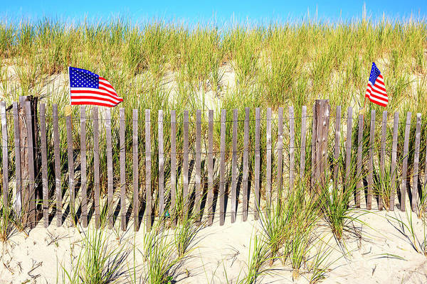 Photograph - Patriotic Cape May by John Rizzuto