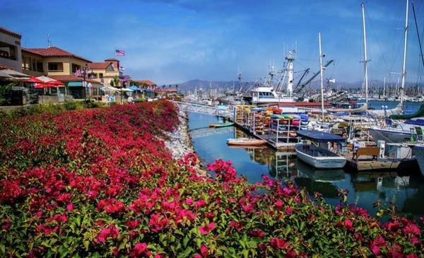 Photograph - Patriotic Days At The Ventura Harbor by Lynn Bauer