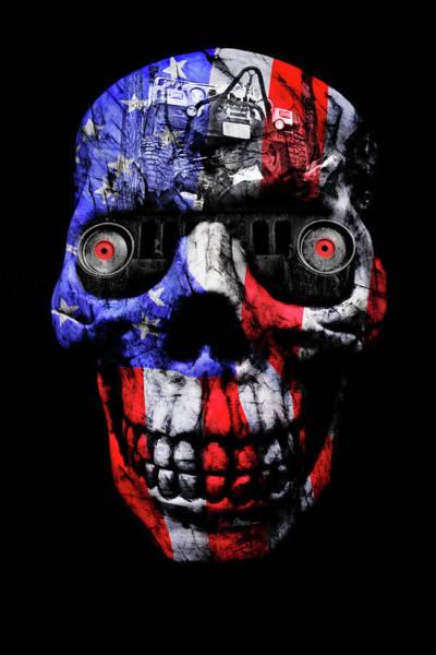 Wall Art - Photograph - Patriotic Jeeper Cyborg Tj Wrangler by Luke Moore