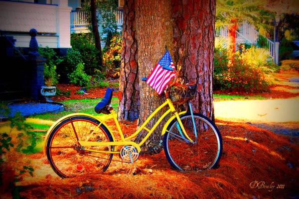 Photograph - Patriotic Ride by Donna Bentley