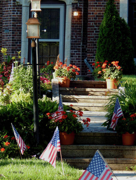 Photograph - Patriotic Steps by Wild Thing