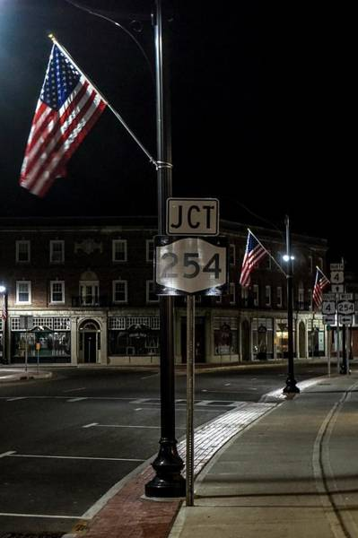Photograph - Patriotism In A Small Town by Kendall McKernon