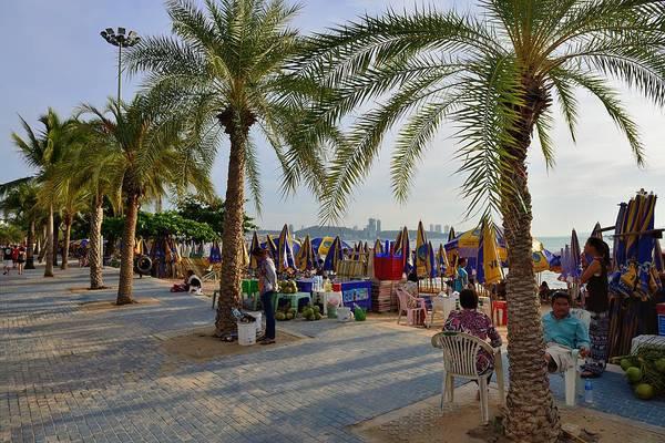 Photograph - Pattaya Beach Strip by Michael Scott