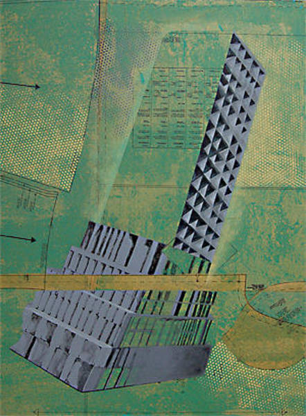 Ambiguous Painting - Patterns Series Number Two by Sonja Olson