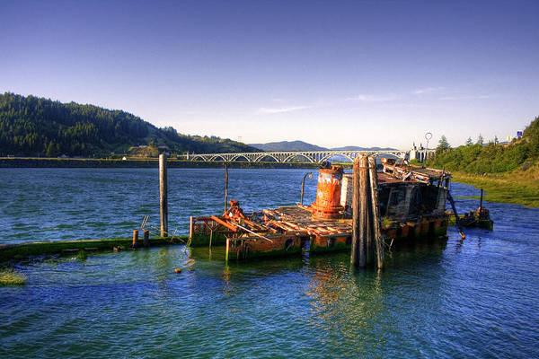Photograph - Patterson Bridge Oregon by Lee Santa
