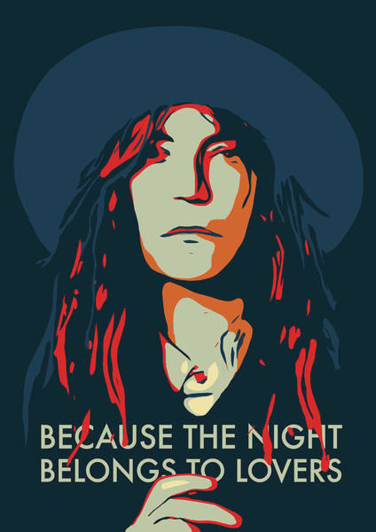 Home Decorating Digital Art - Patti Smith by Greatom London