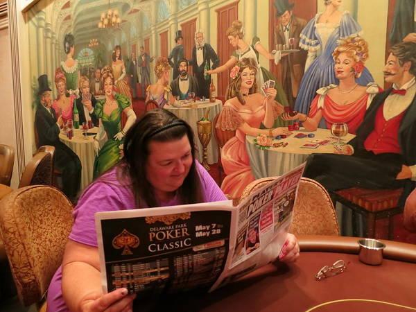 Pattie Poker Art Print